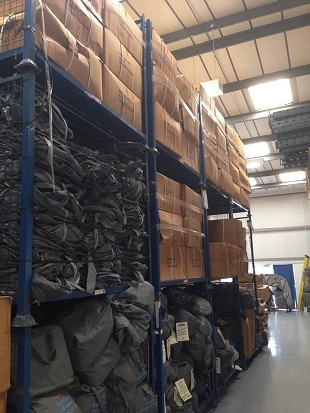 Factory Unit / Racking / UKs Largest Stockist