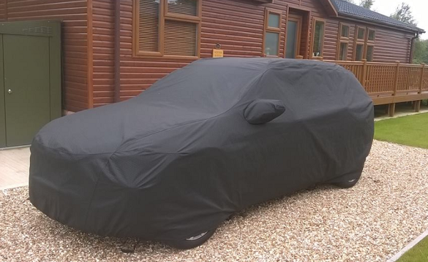 Audi Q8 Custom Car Cover Waterproof and Breathable, made to order.