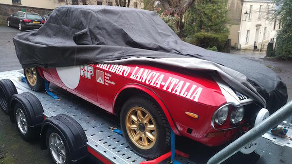 Lancia Fulvia Custom Made Cover from Coveryourcar.co.uk