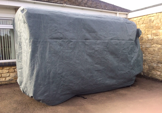 Citroen H Van Custom Car Cover Made to Measure
