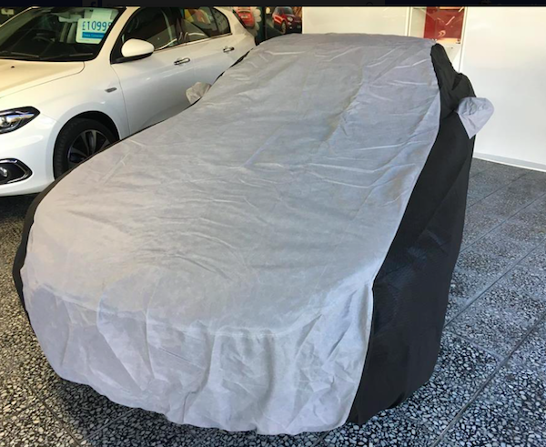 Fiat 124 Spider Custom Outdoor Car Cover