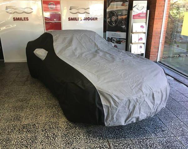 Cielo Custom Car Cover for the Fiat 124 Spider