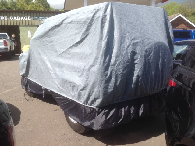 Extra Deep Car Cover with Locking Kit Fitted