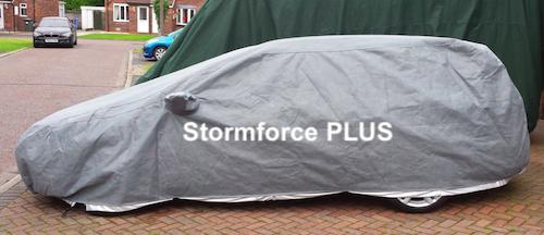 Volvo Estate Car Under a Stormforce PLUS Cover