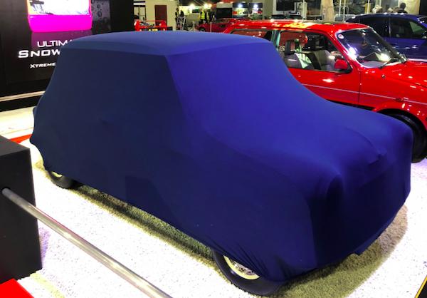 Classic Mini Indoor Soft, Stretch Car Cover