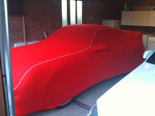 Porsche Soft Indoor Fleece Cover
