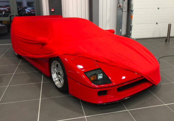Ferrari Soft Stretch Indoor Car Cover