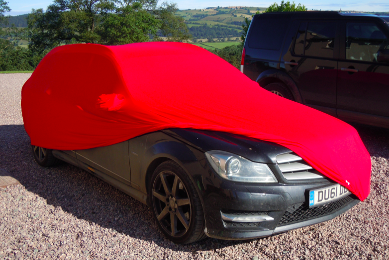 Mercedes Soft Stretch Indoor Car Cover