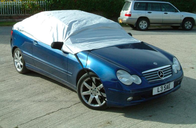 Mercedes Half Cover