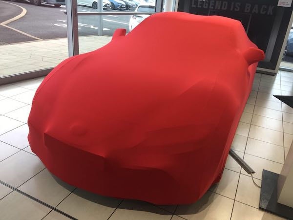 Indoor Car Cover for 2020 Toyota Supra
