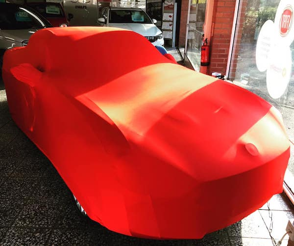 Fiat 124 Spider and Abarth Sahara Indoor Car Cover