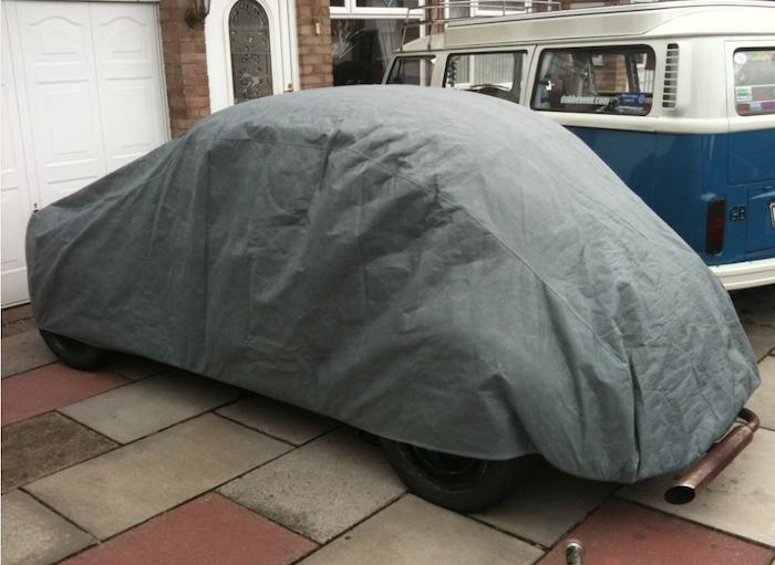 Classic VW Beetle / Super Beetle Outdoor Car Cover