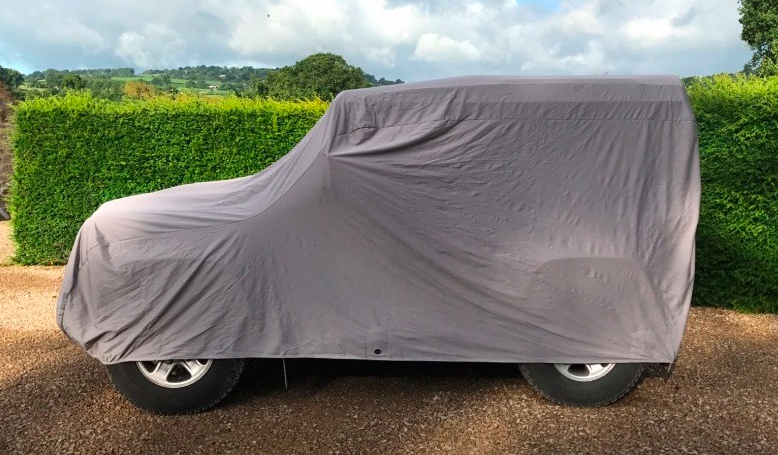 LANDROVER Stretch Fit Outdoor Car Cover.