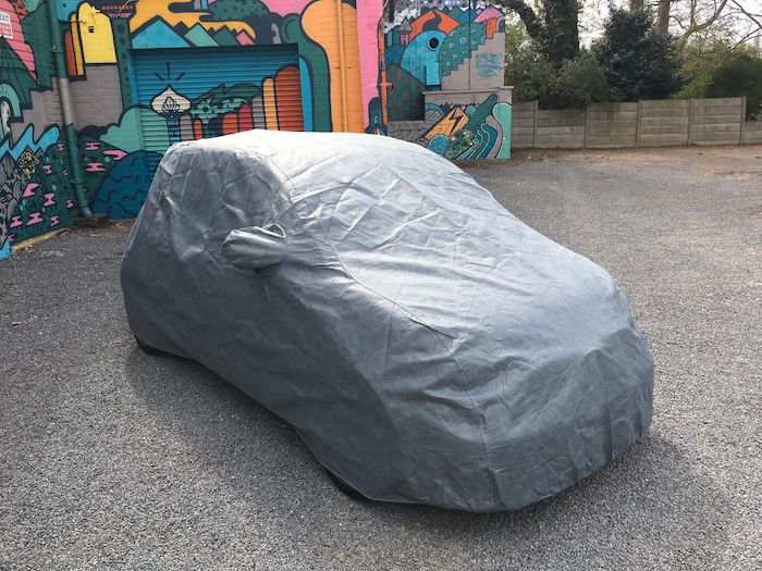 500 Abarth Stormforce Car Cover