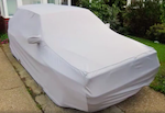 GUANTO Stretch Indoor / Outdoor Bespoke Car Cover for the Lancia Delta Integrale - Fully Fitted, made to order.