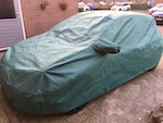 Renault Clio ADVAN-TEX Waterproof & Breathable Outdoor Bespoke Car Cover  - Fully Fitted, made to order.