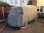 VW Type 2 Camper HIGH TOP 'STORMFORCE' 4 Layer Luxury Outdoor Car Cover.