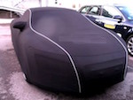 Renault Captur SOFTECH LIGHT Luxury Indoor Black Cover - Soft, Stretch, Fully Fitted