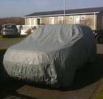 Mitsubishi ASX Voyager Fitted Car Cover for indoor/outdoor use. ( STORMFORCE Upgrade Available )