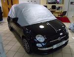 Fiat 500 and Abarth Half Cover