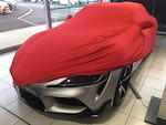 Toyota Supra ( 2020 on Version ) SOFTECH STRETCH Indoor Car Cover indoor - Colour Choice
