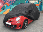 New Shape FIAT 500 Abarth and Biposto Indoor Fitted Dust Cover