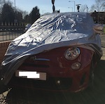 New Shape 500 Abarth VOYAGER car cover for indoor / outdoor use.