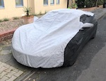 CIELO Any Lotus Bespoke Outdoor Car Cover - Individually made to order.  2 Tone Black & Grey