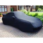 Porsche Softech LIGHT Indoor Bespoke Car Cover - Fully Fitted, made to order.  Black with Silver Piping