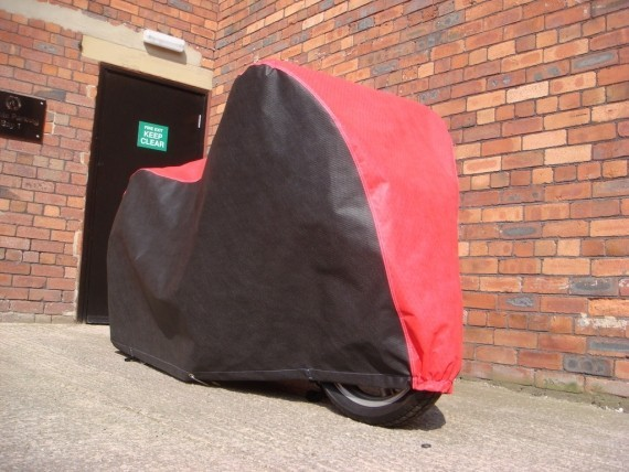 Bespoke CIELO Outdoor Motorcycle Covers