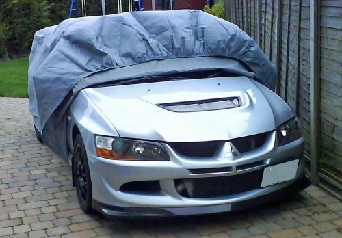 Mitsubishi Lancer Stormforce Car Cover from Coveryourcar.co.uk
