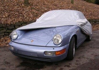 Soft Inner Lining on the Monsoon Porsche Car Cover