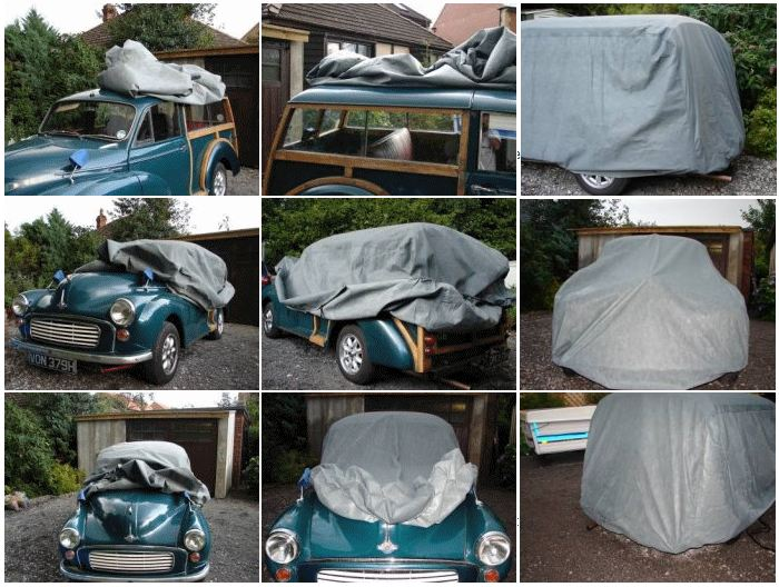 Coveryourcar.co.uk Morris Minor Traveller Stormforce Car Cover Review