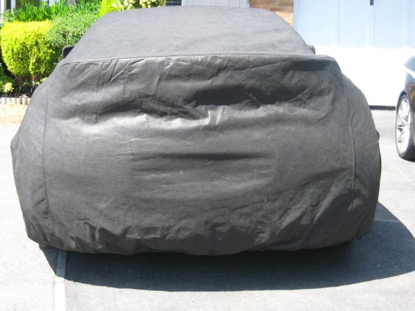 Rear View - Nissan GT-R Outdoor Car Cover