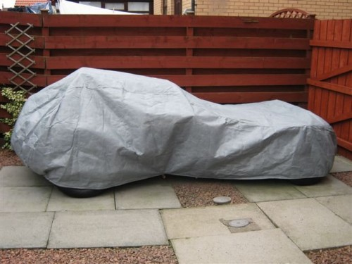 Wide Bodied Westfield Stormforce Car Cover