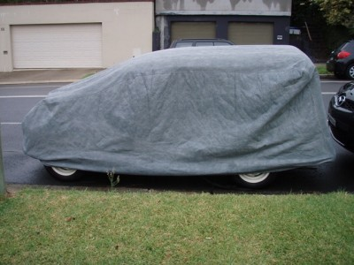 One of our Stormforce Traveller Covers on customers car in Australia