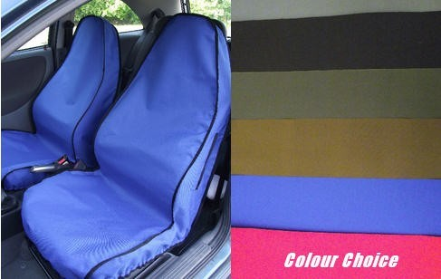 Semi Fitted Custom Titan Front Car Seat Covers