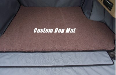 Custom in Car Dog Mat / Boot Dog Mat