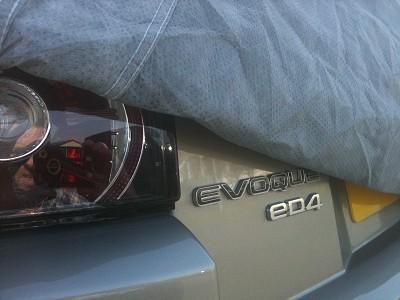 Range Rover Evoque Stormforce Car Cover
