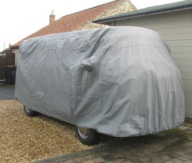 Stormforce VW Camper van with poptop cover from Coveryourcar.co.uk