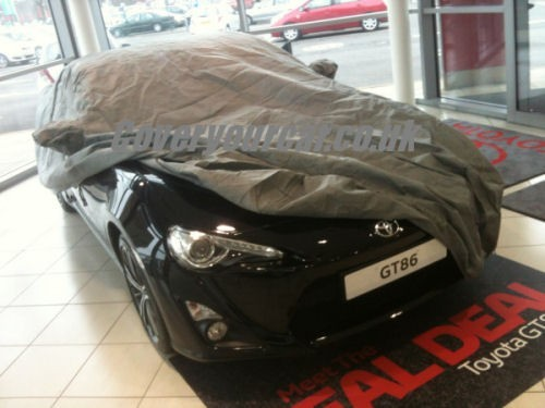 Toyota GT86 Outdoor fitted car cover.