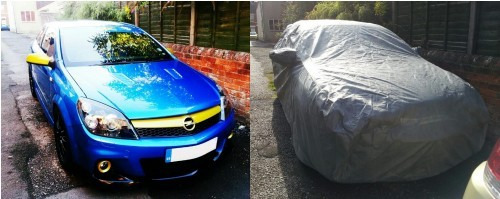 Vauxhall Astra VXR Stormforce Car Cover