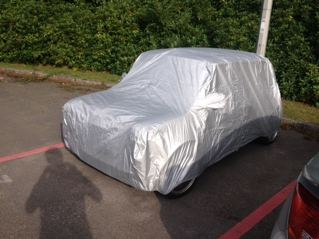 Classic Mini Car Cover - Even Fits Minis with Arches