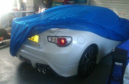 Sahara Indoor Car Cover for the GT86