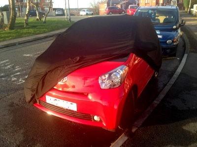 Aston Martin Cygnet Indoor Car Cover