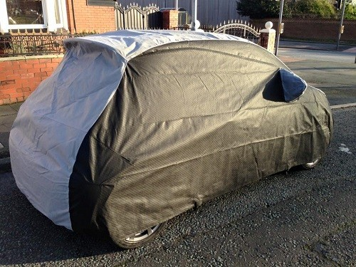 500 Abarth Outdoor Car Cover