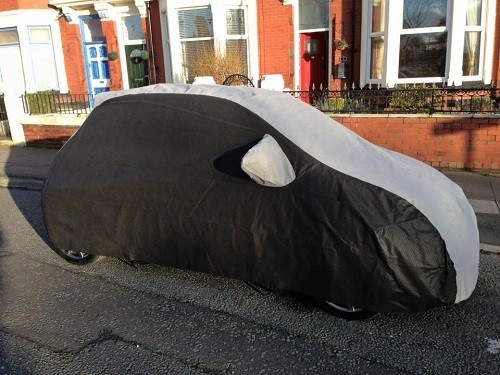 500 Fitted Outdoor Car Cover