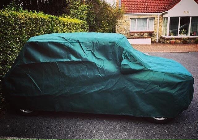 Classic Mini Bespoke Car Cover for Outdoor Use