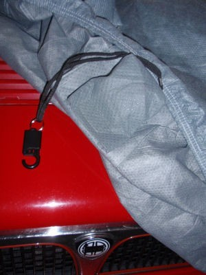 Alarm fitted to Lancia Delta Integrale Stormforce Car Cover