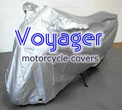 Motorcycle VOYAGER Cover - Indoor / Outdoor